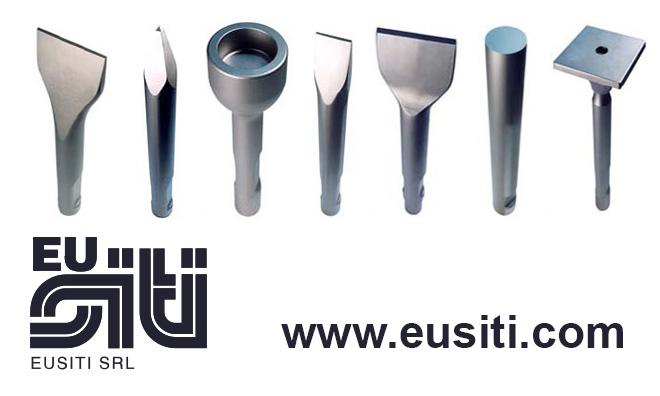 Eusiti - Punte utensili martelli demolitori idraulici